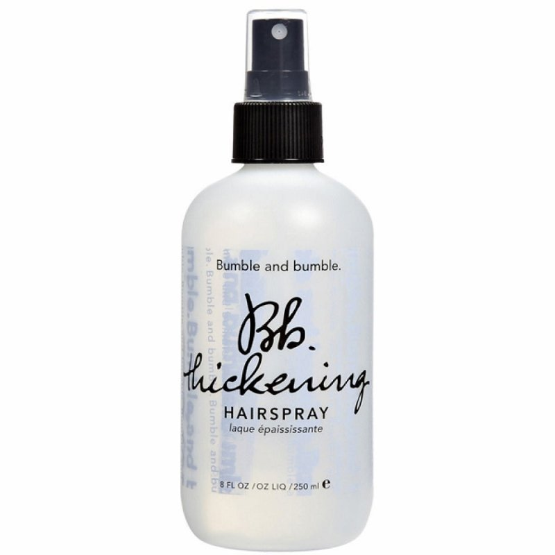 Fine hair products, thickening spray