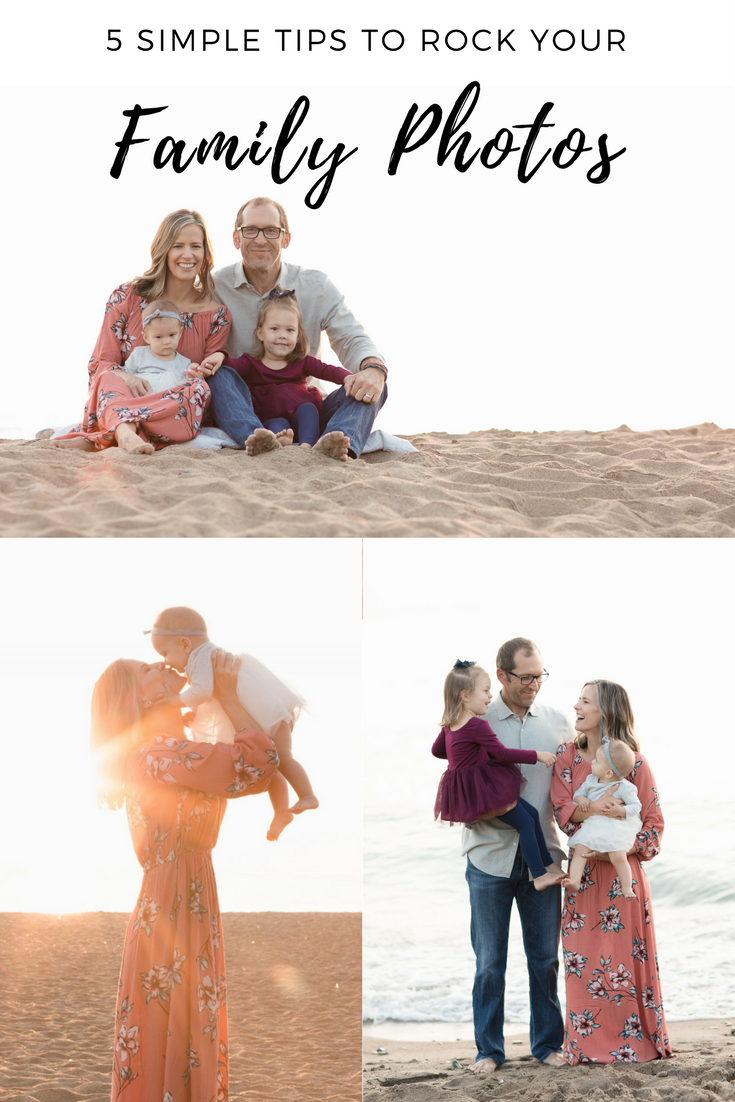 5 simple tips to rock your family photos