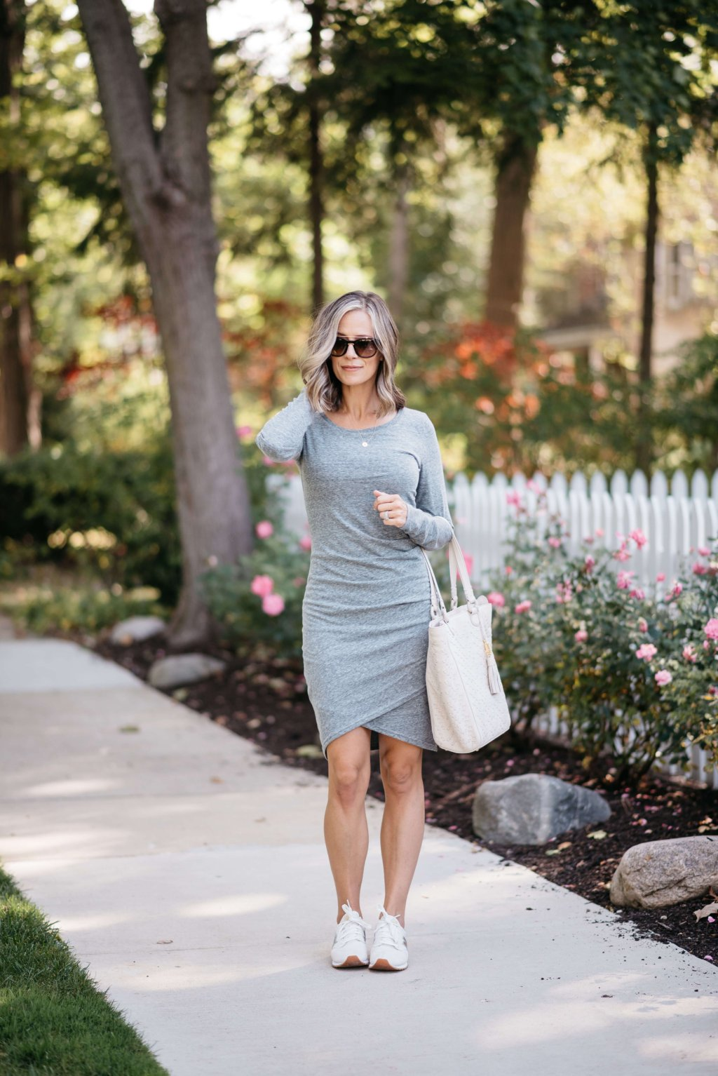 Leith ruched dress