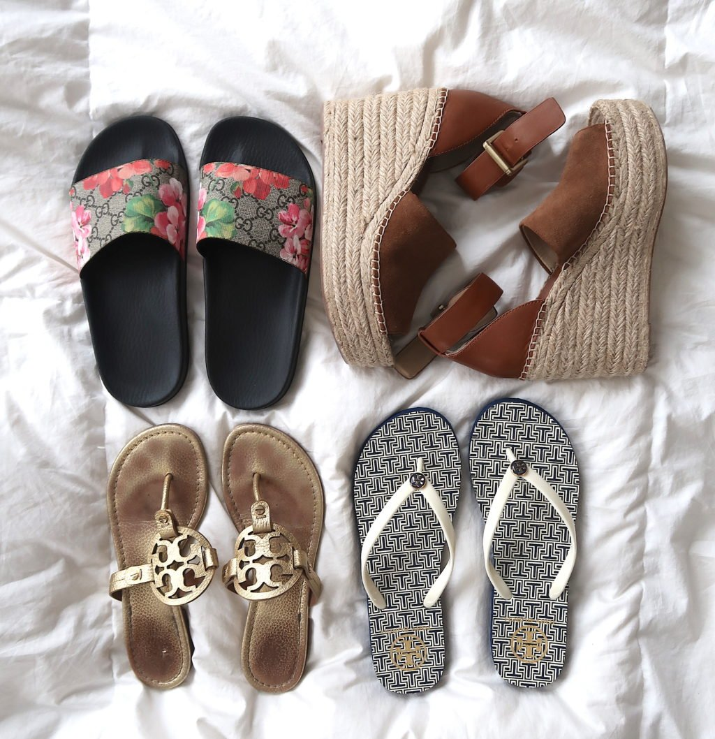 What's In My Suitcase: Beach Vacation, shoes
