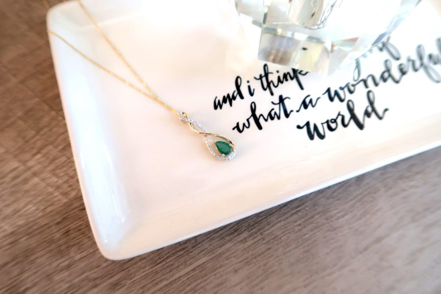 Mother's Day gift idea, birthstone necklace