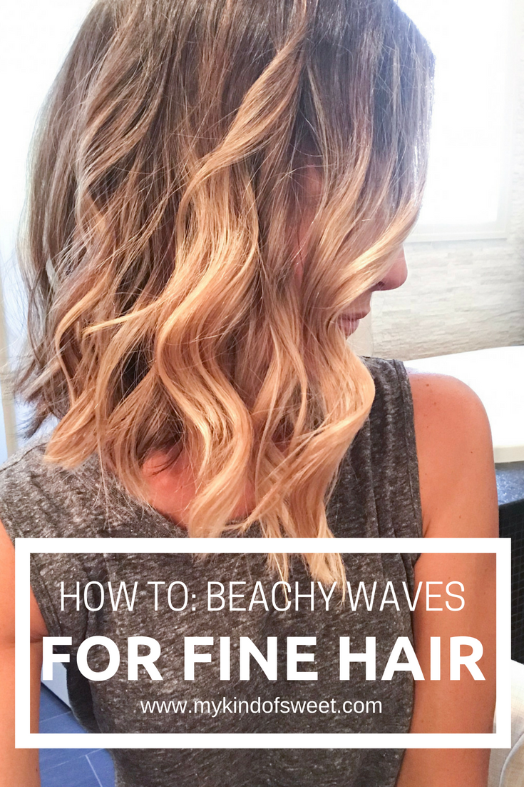 July's Top Fives: how to beachy waves for fine hair