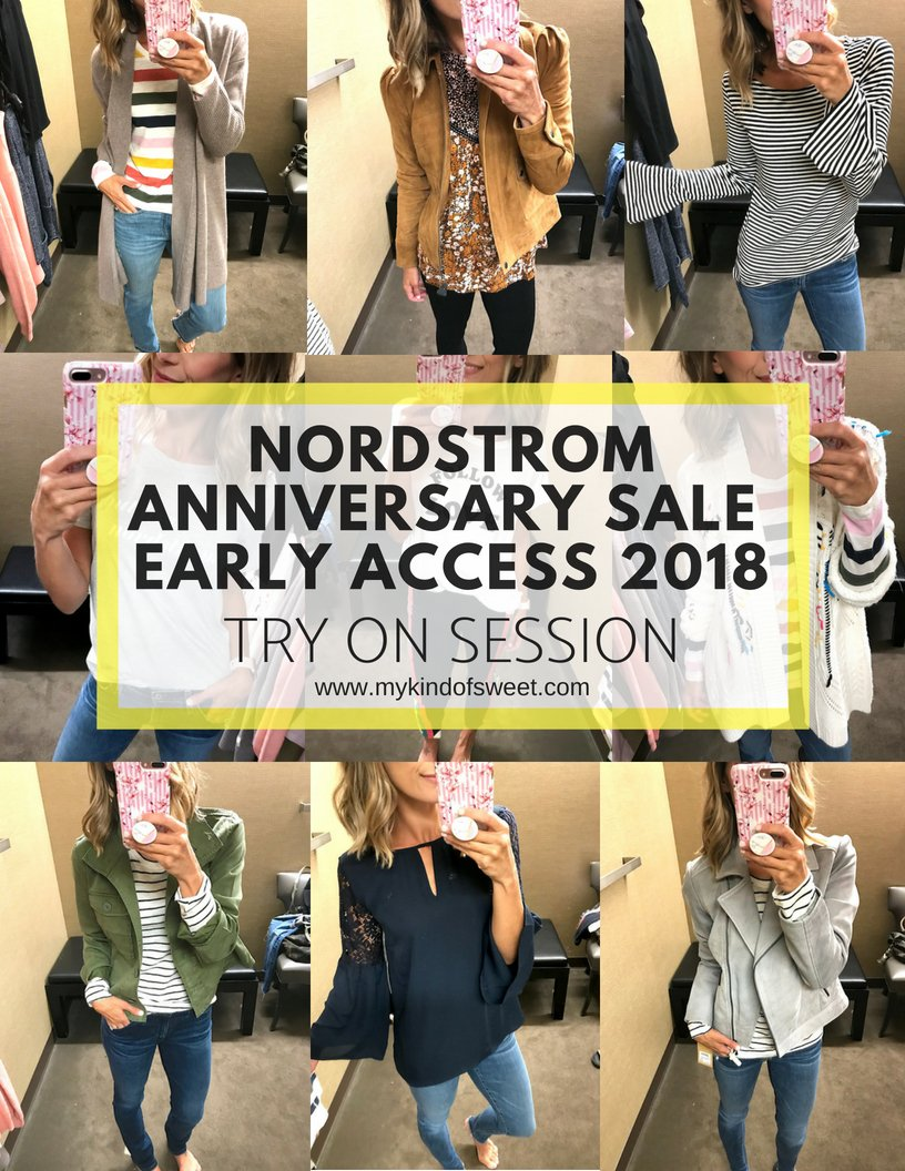 Nordstrom Anniversary Sale casual try on
