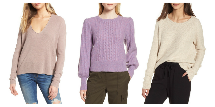Nordstrom Anniversary Sale, sweaters