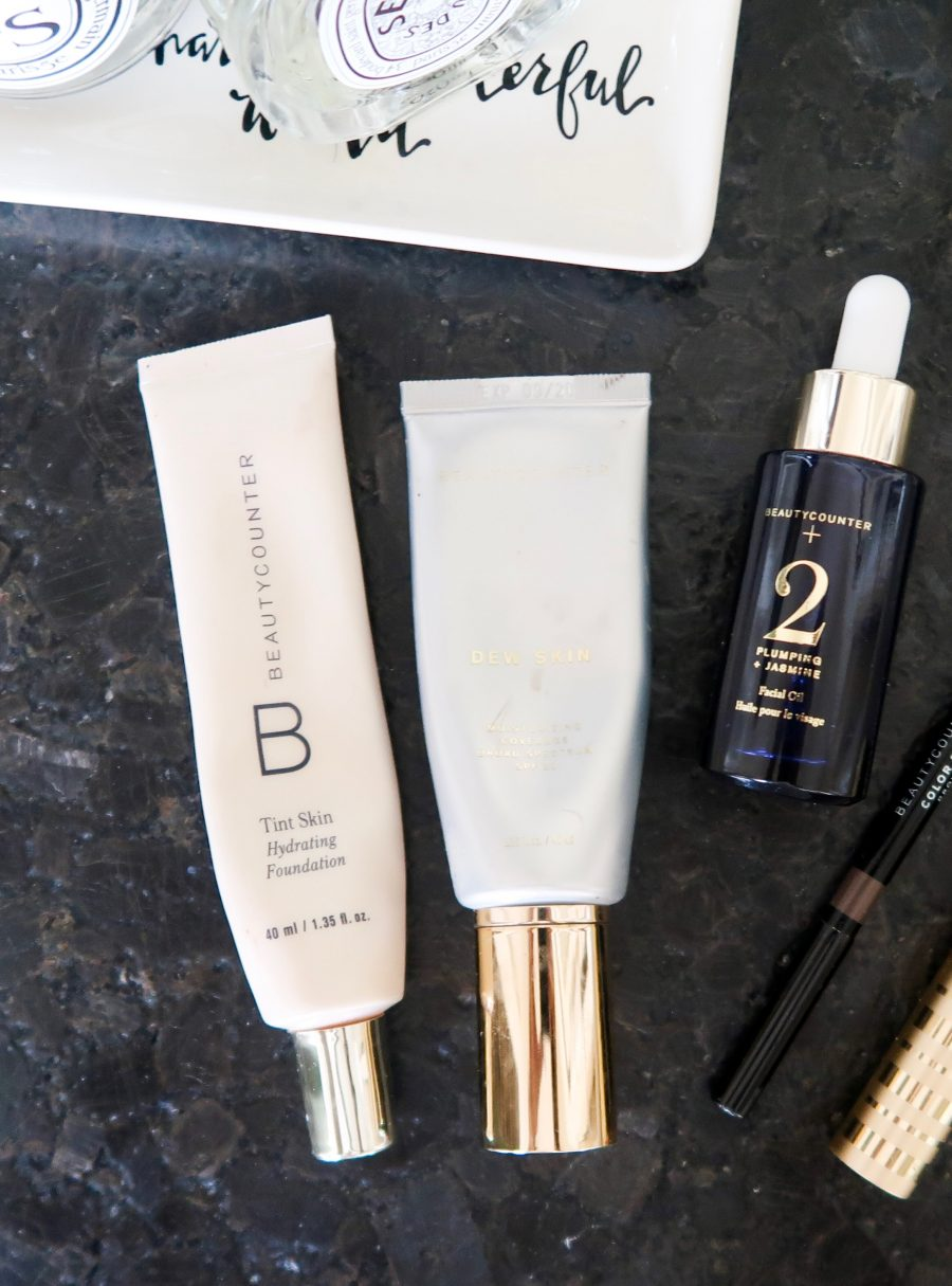 Beautycounter products, tint skin hydrating foundation