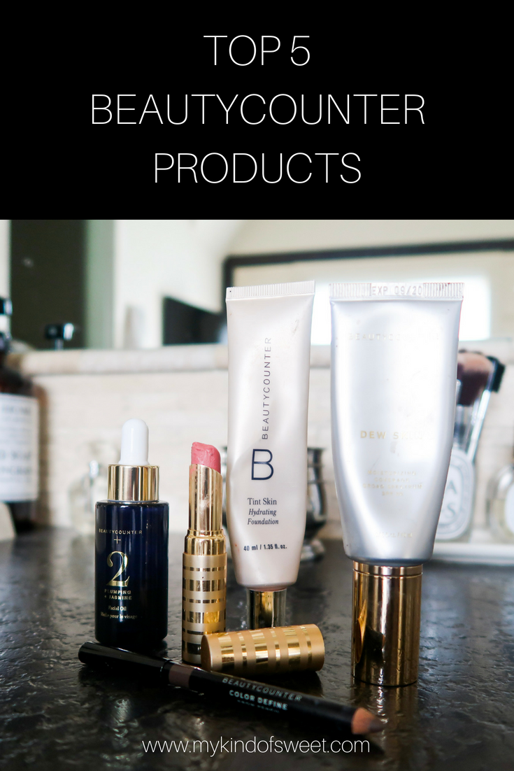 Top 5 Beauty Counter Products