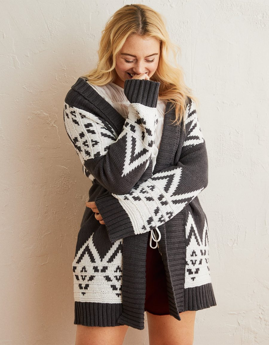 Countryside cardigan, Aerie