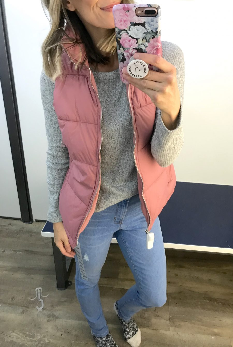 Old Navy winter try on haul, puffer vest