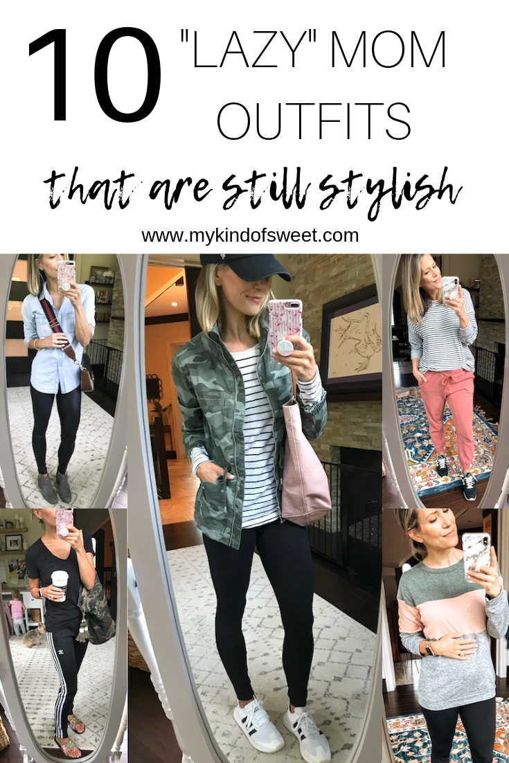 """10 """"Lazy"""" mom outfits that are still stylish"""