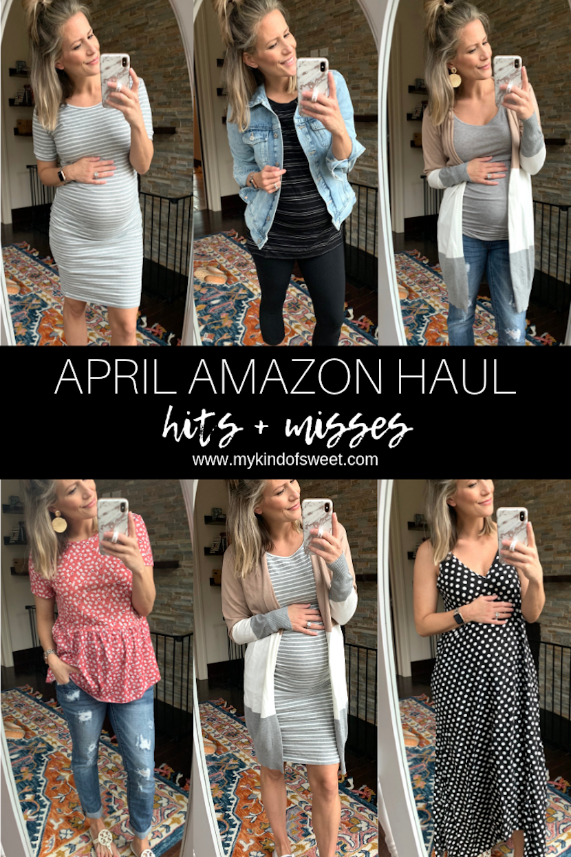 April Amazon Haul, hits and misses