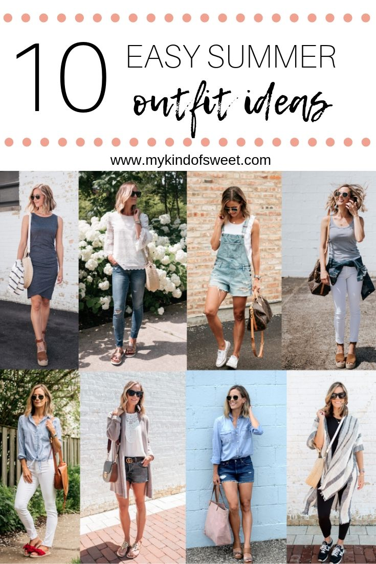 10 Easy Summer Outfit Ideas