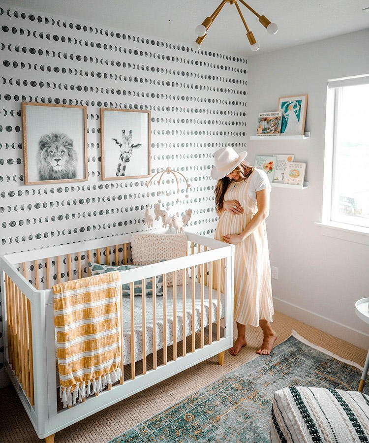 10 Gender Neutral Nursery Decorating Ideas: Baby Boy Nursery Inspo...