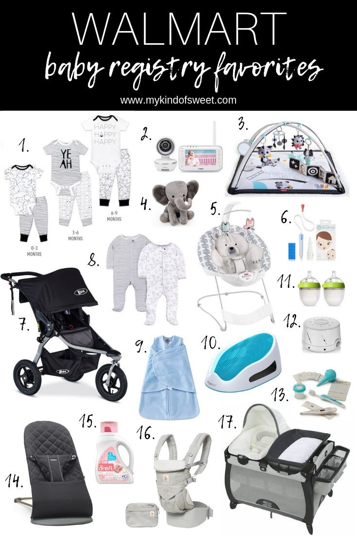 Walmart Baby Registry Favorites