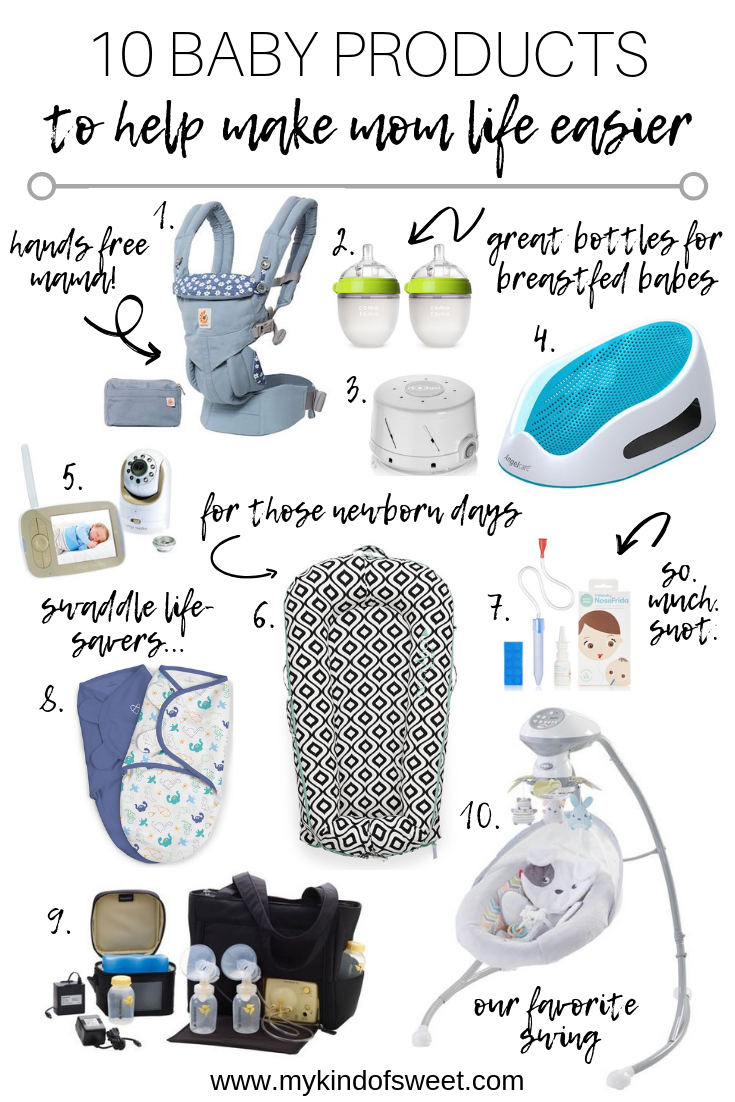 10 Baby Products That Make Mom Life Easier