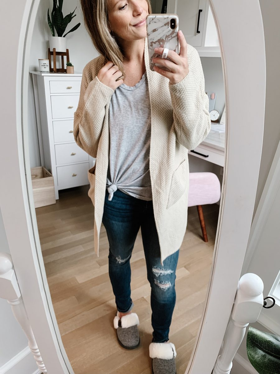 September Amazon fashion haul, cardigan