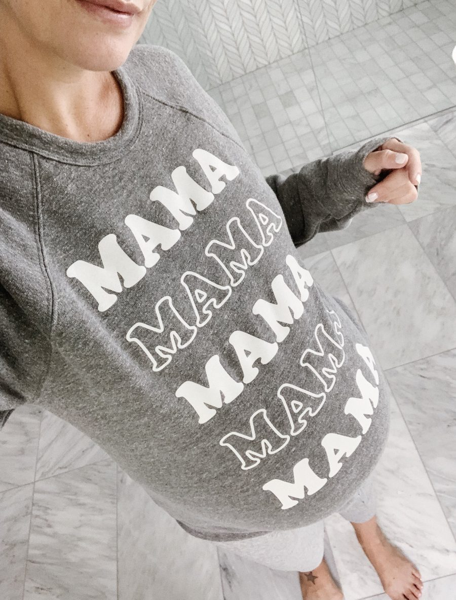 August Top Fives: MAMA pullover