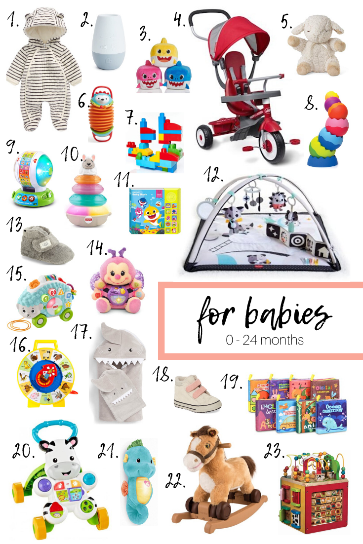 Holiday Gift Guide: Gifts For Babies, Toddlers, Little Kids + Big Kids