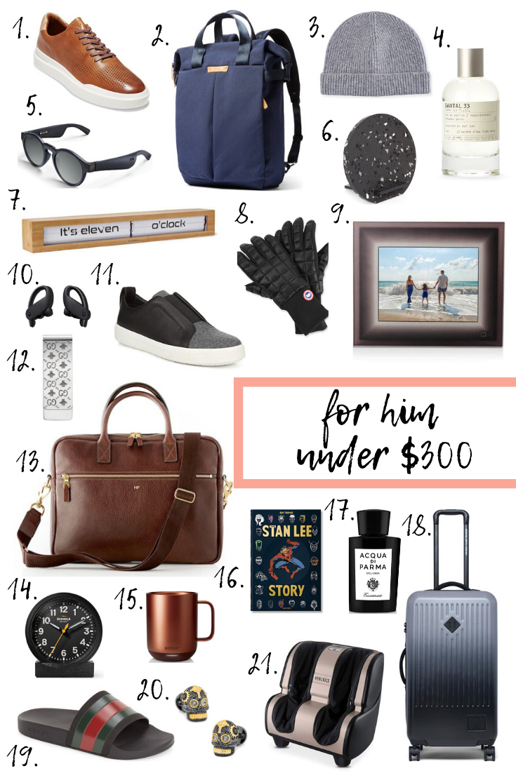 Holiday gift guide for him under $300