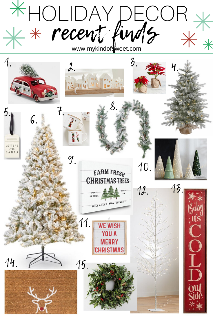 Holiday Decor | Recent Finds