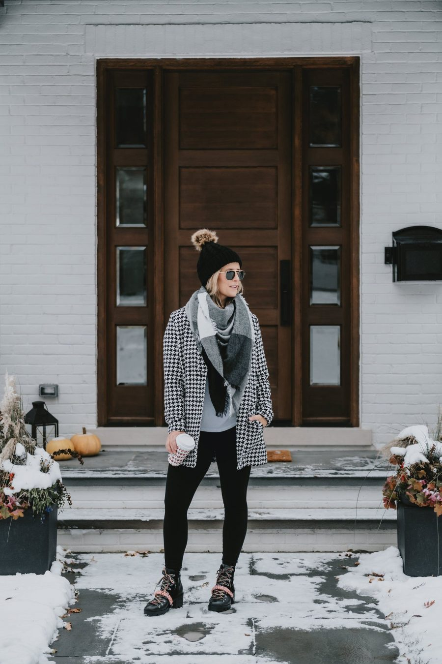 Early Black Friday Sales + My $30 Houndstooth Coat