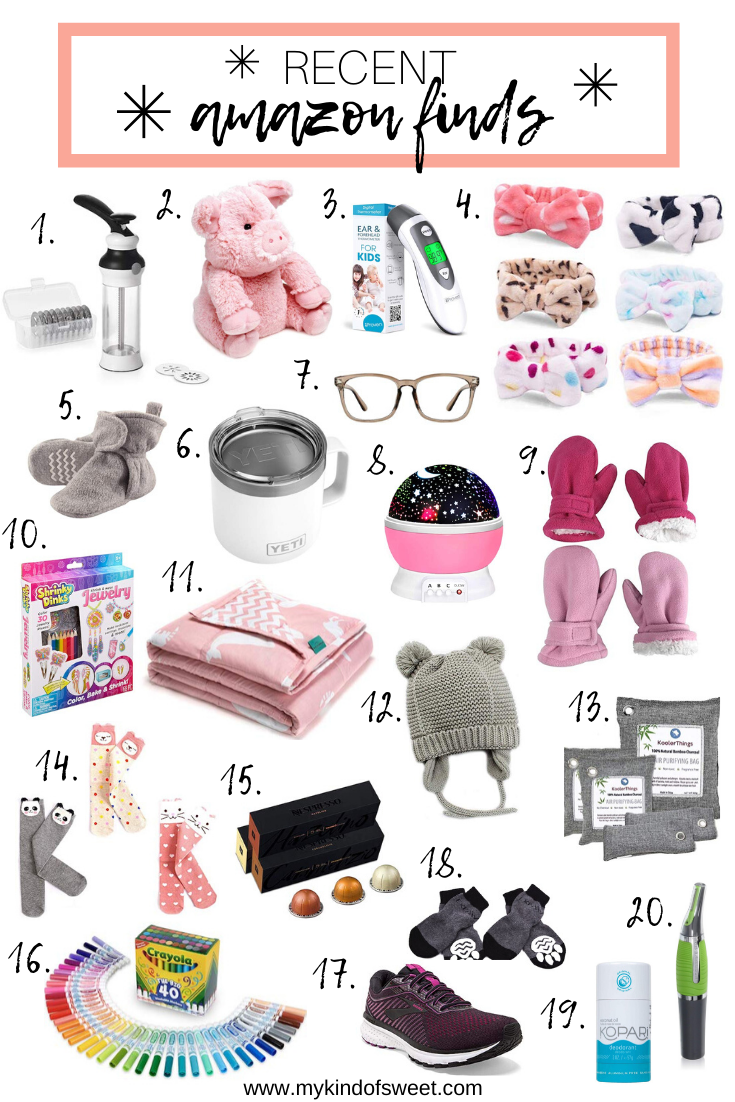 Recent Amazon Finds + Last Minute Gift Ideas
