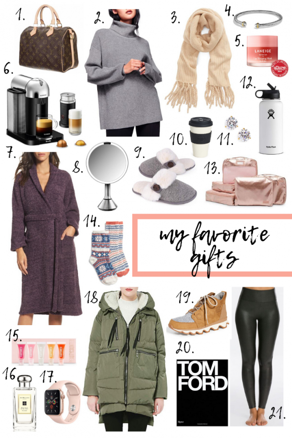 My Favorite Gifts + What's On My List...
