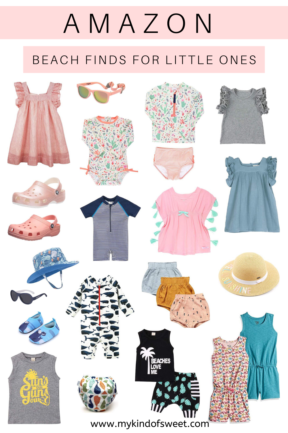 Amazon Beach Finds For Little Ones