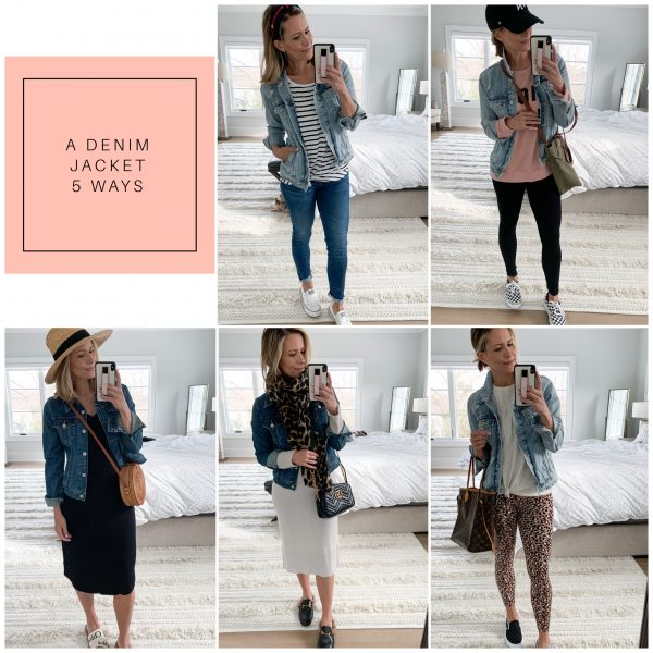 A Denim Jacket 5 Ways