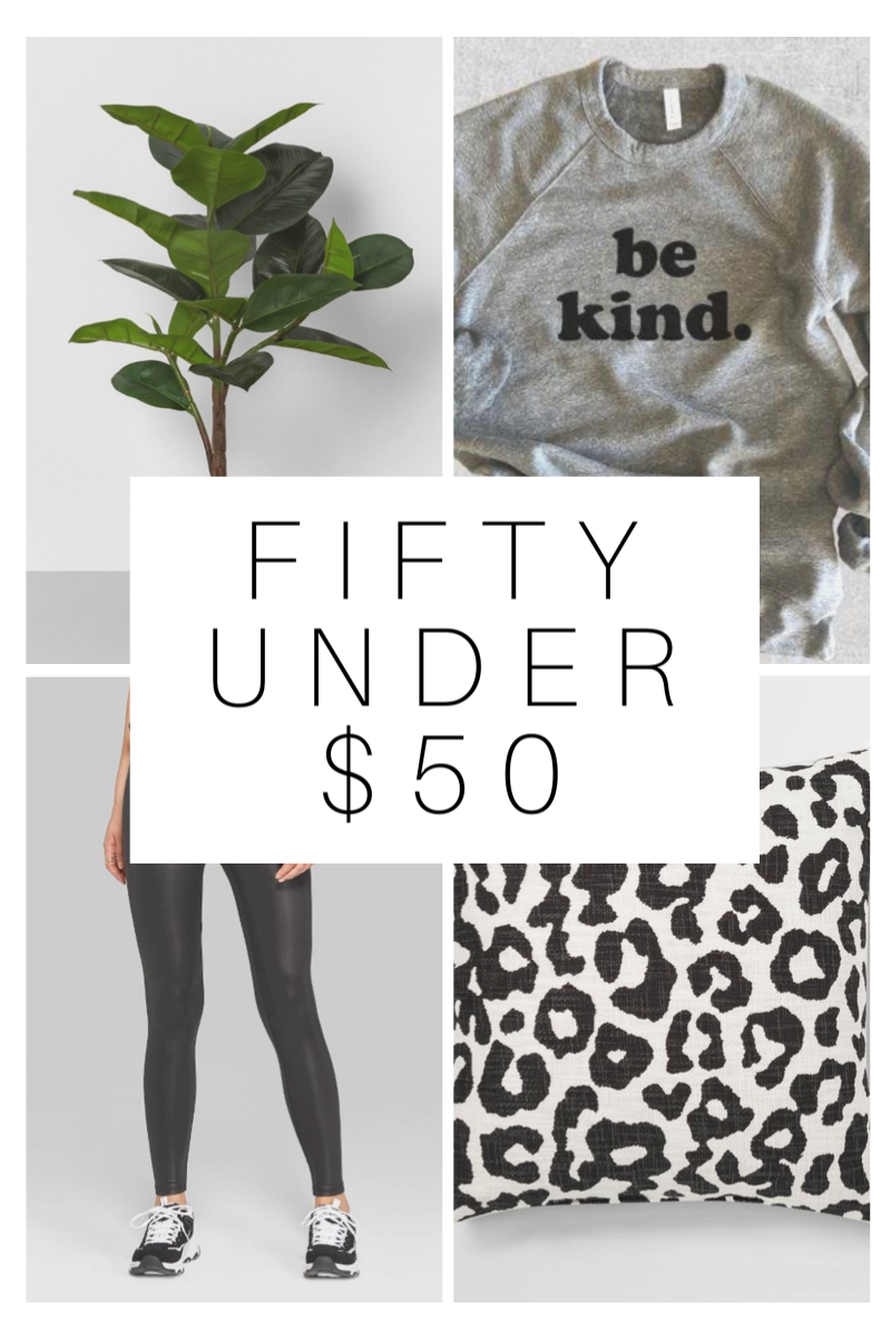 Fifty Under $50
