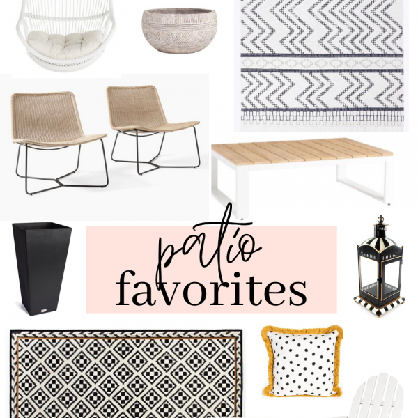 Outdoor Patio Favorites