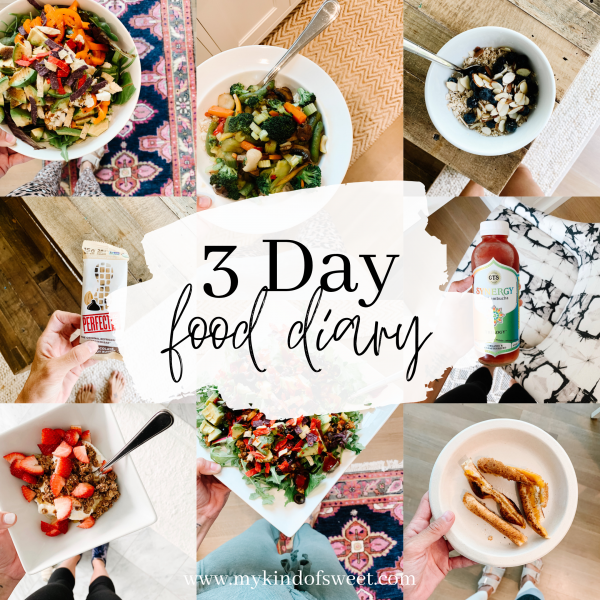 3 Day Food Diary