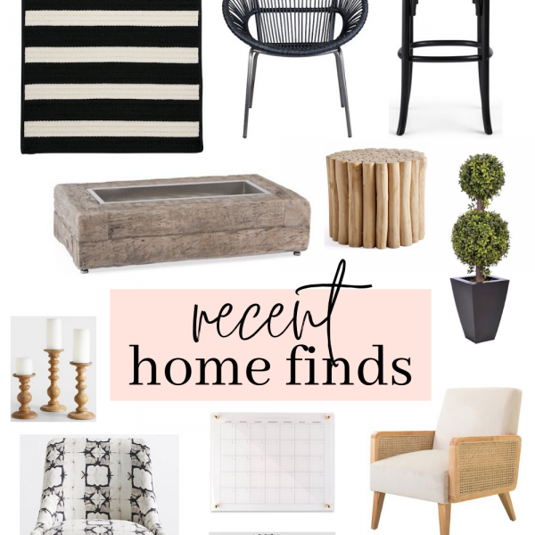 Recent Home Finds | June