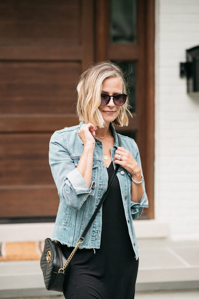 Today I'm sharing a few more Amazon Fashion Favorites that have been on repeat since last summer featuring a midi dress and denim jacket.