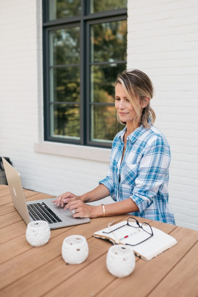 Today's blog is all about comfortable and trendy work from home outfits to feel put together and professional in your Zoom meetings!