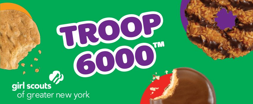 Friday Five--The Charity: Troop 6000, a Girls Scout troop designed to serve homeless girls in NYC.