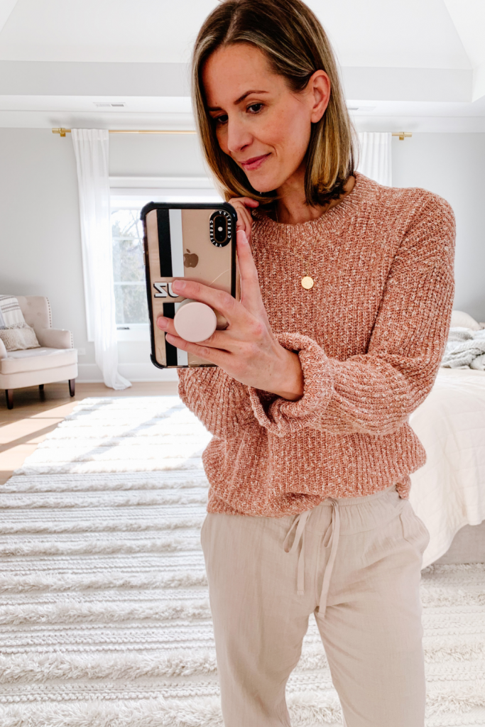 My recent Target finds, marled sweater