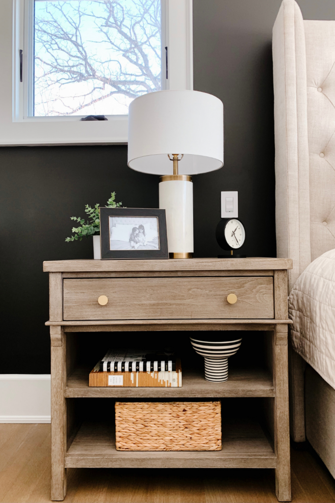 March best sellers, nightstand and table lamp