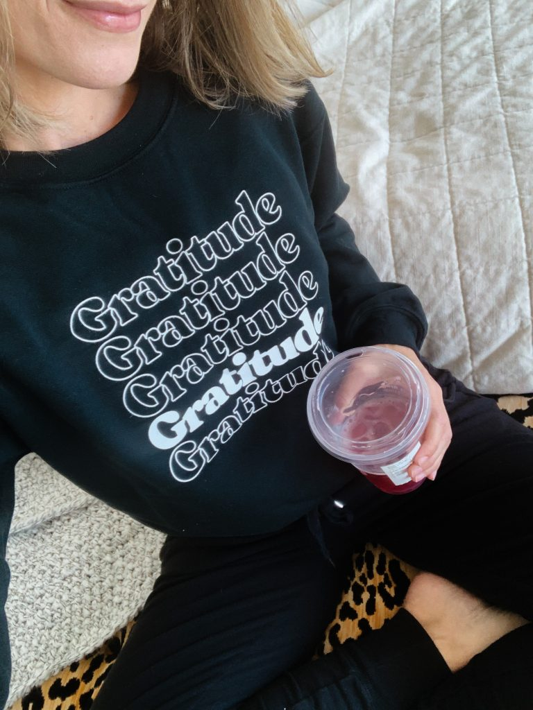March best sellers, gratitude sweatshirt