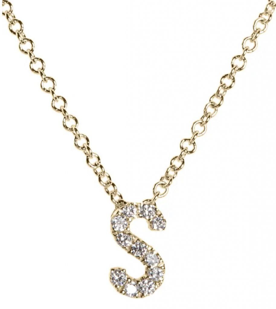 Mother's Day Gift Guide, initial necklace