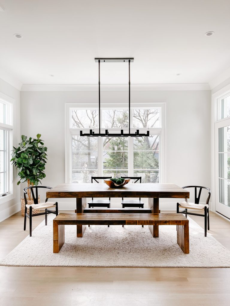 April best home sellers: reclaimed wood dining table