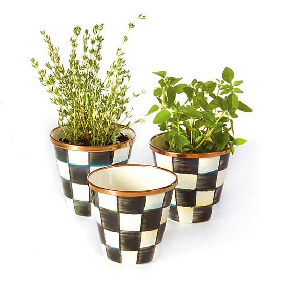 Mother's Day Gift Guide, herb pots