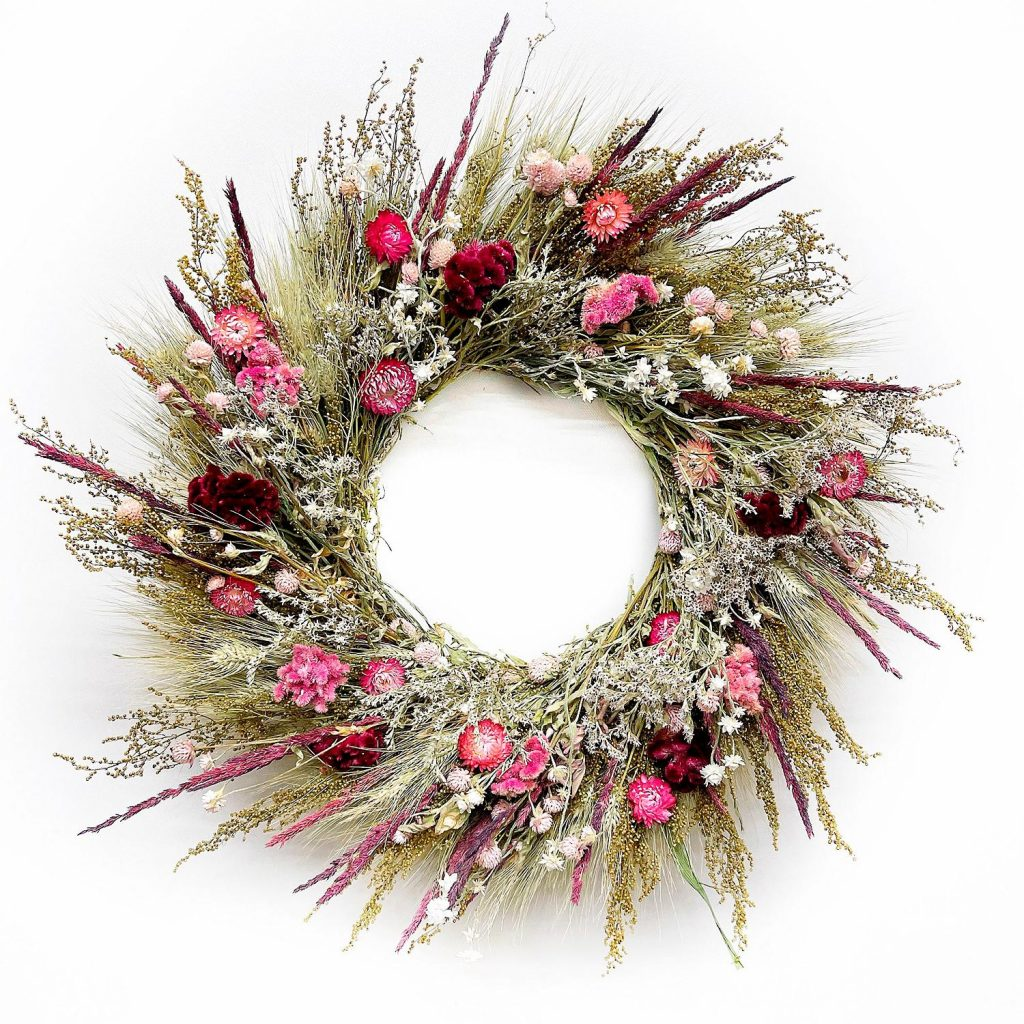 Mother's Day Gift Guide, floral wreath