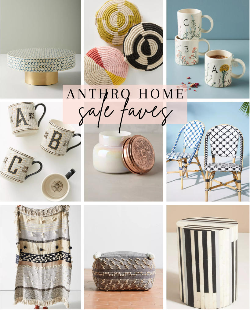 Memorial Day Sales Round Up, Anthropologie home