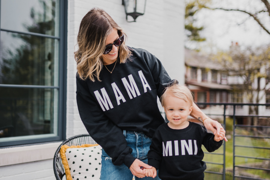 Matching My Mini + 3rd Baby Thoughts