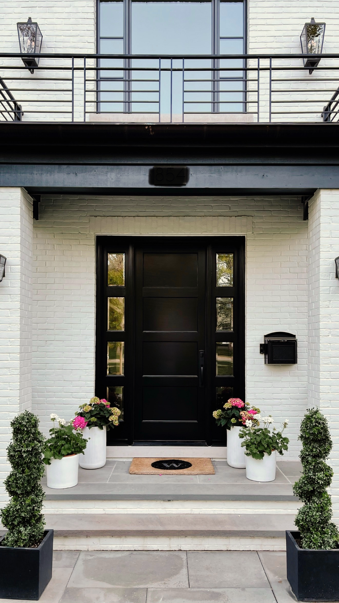 Our Front Door | Before + After