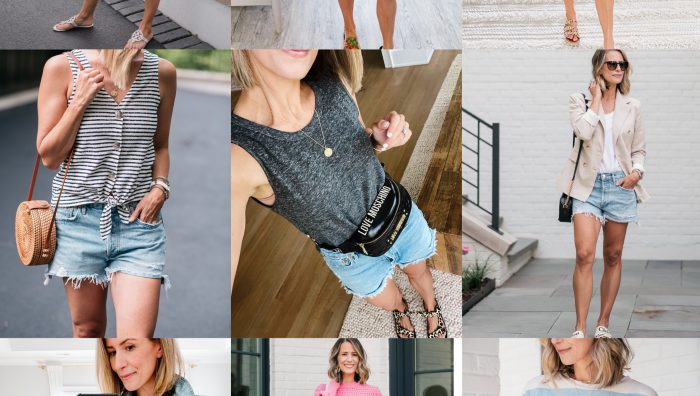 10 Ways To Style Cut Offs For Summer