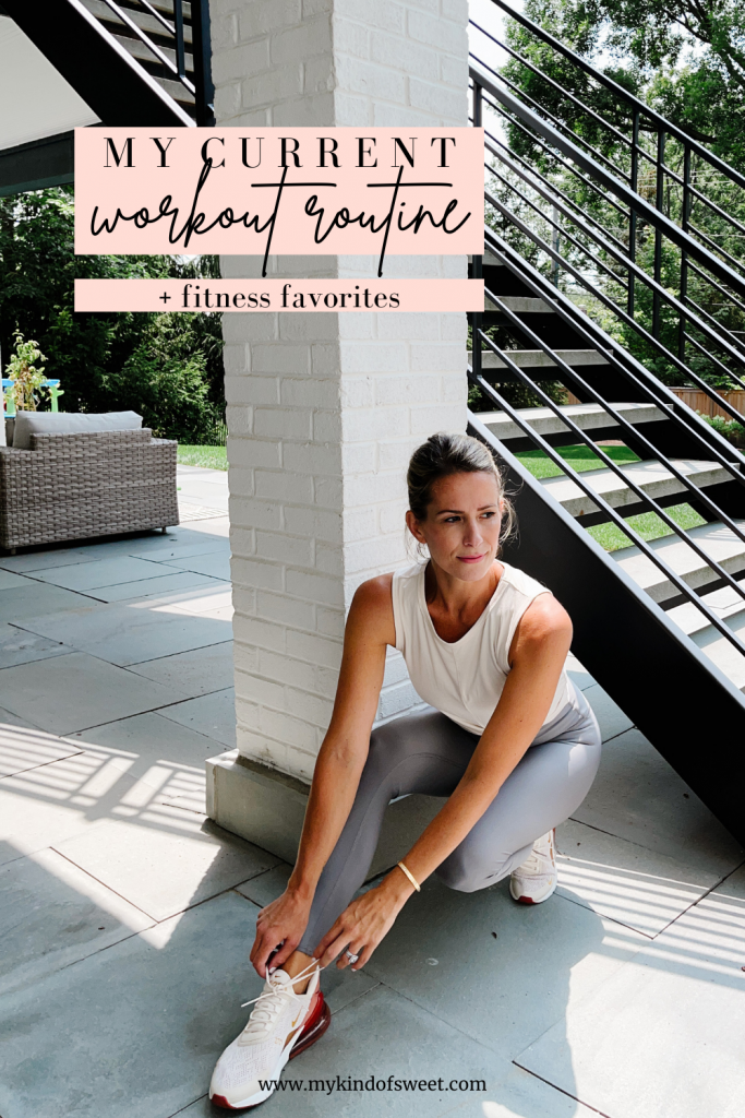 My Current Workout Routine + Fitness Favorites