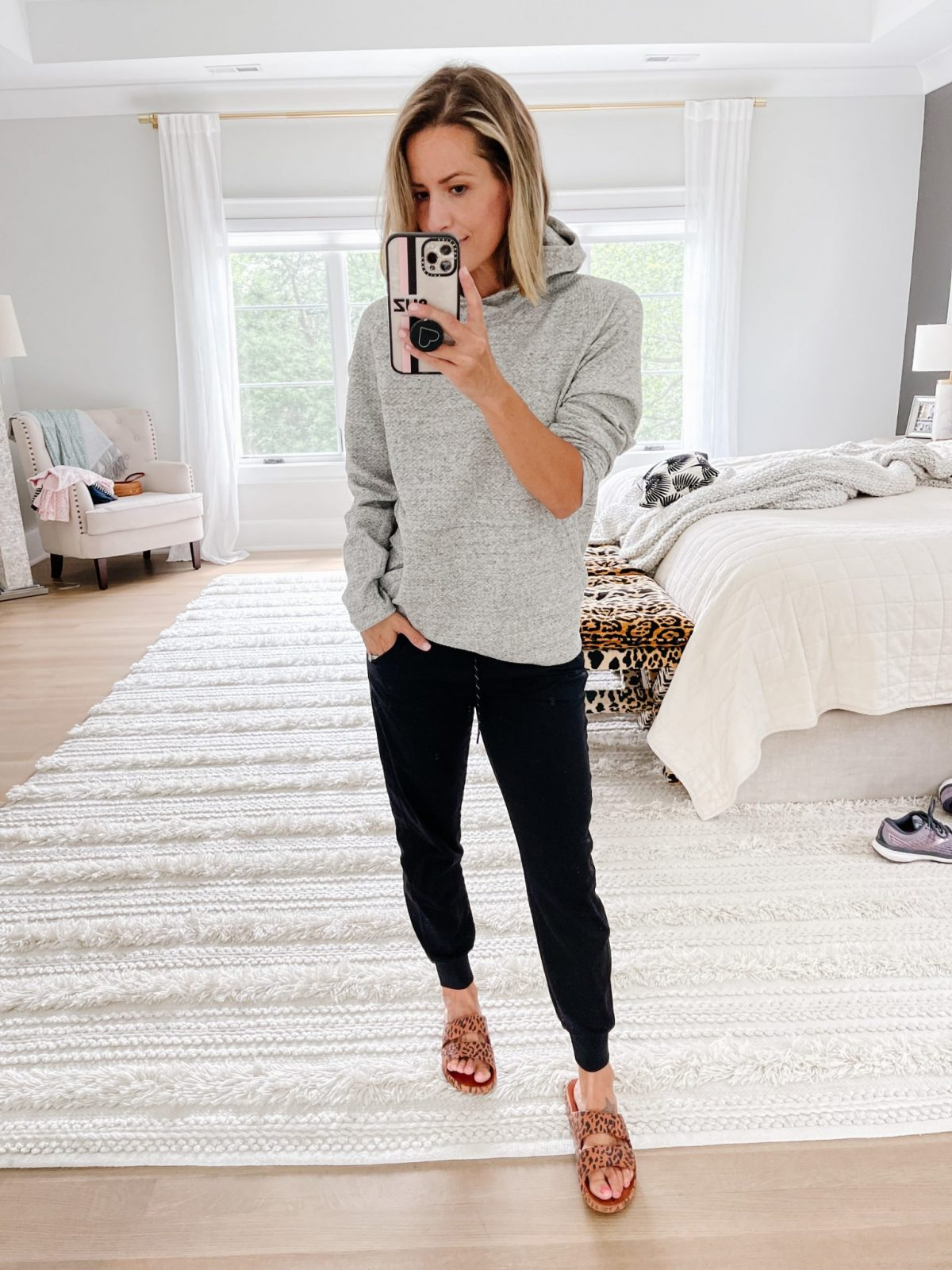 Late summer #ootd round up, pullover and joggers