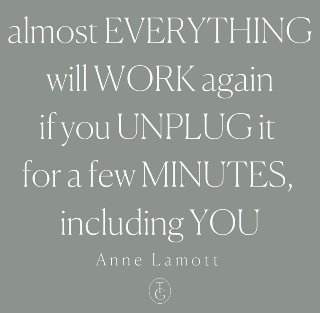 Almost everything will work again if you unplug for a few minutes including you