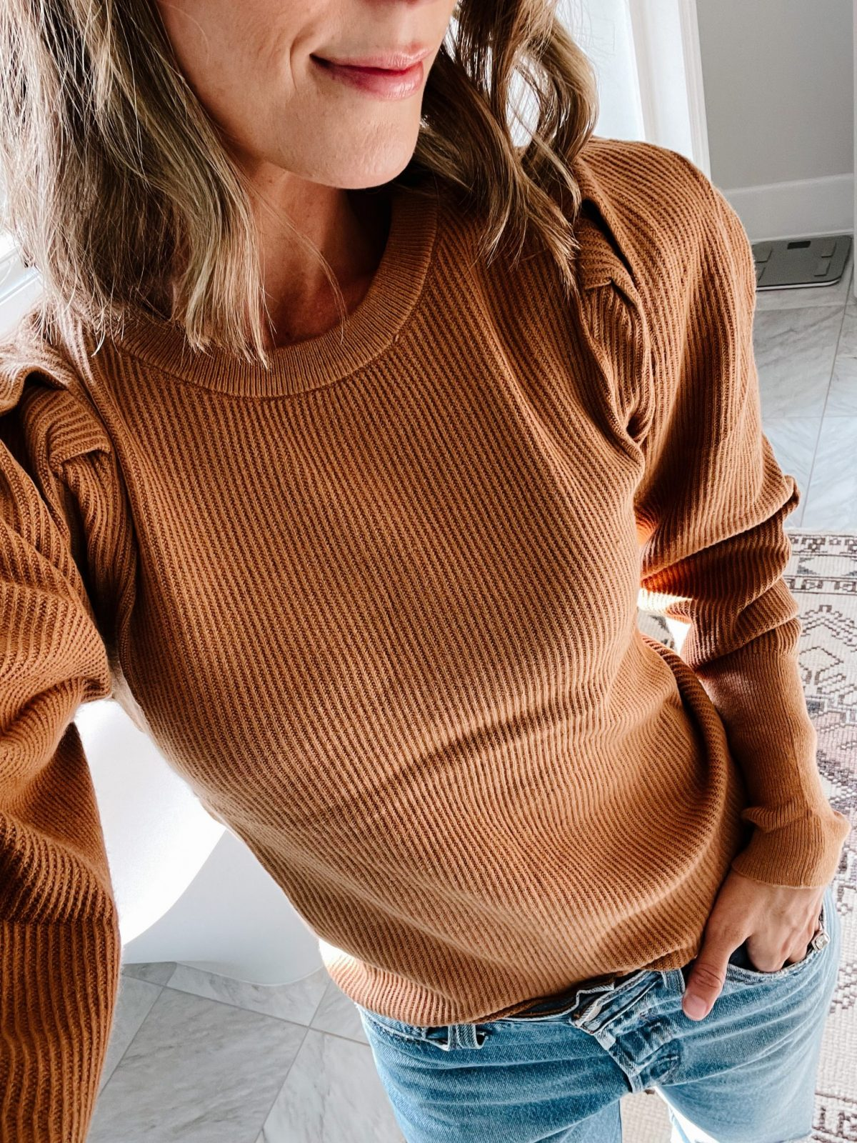 Most loved puff sleeve sweater